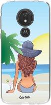 Casetastic Softcover Motorola Moto G7 Power - BFF Sunset Brunette