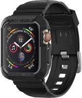 Spigen Apple Watch 4 (44mm) Rugged Armor Pro - Zwart