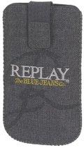 Replay tasje - jeans - grijs - maat 01