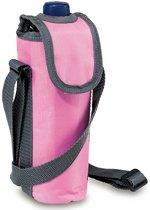 Flessen koeltasje roze 0.5 liter