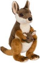 WWF - Kleine Kangoeroe - Knuffel - 19 cm