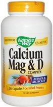 Calcium, Mag & D Complex Nature's Way 250caps
