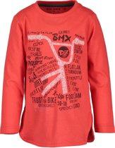 Blue Seven Jongens T-Shirt - Rood - Maat 92