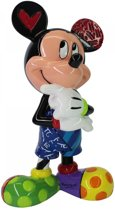 Disney Britto Beeldje Mickey Mouse Thinking 15 cm