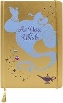 Half Moon Bay Disney Aladdin A5 Notebook- Genie schrijfblok & schrift Blauw, Geel 240 vel