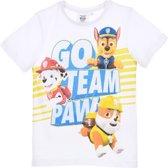 T-shirt Paw Patrol maat 110
