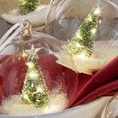 LOBERON Kerstversiering set van 6 Ollie helder