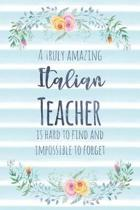 A Truly Amazing Italian Teacher Is Hard to Find and Impossible to Forget