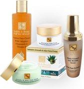 Facial care - Sensitive skin - Set of 4