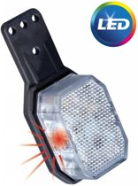 Aspock Flexipoint LED rood / wit op kleine rubber houder
