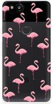 Pixel 2 Hoesje Flamingo