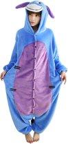 Eeyore Onesie Verkleedkleding - Volwassenen & Kinderen - XL (175-195 cm)