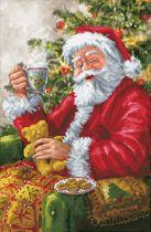 Diamond Dotz ® painting Kerst Santas Cuppa - Diamond Painting