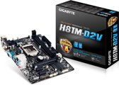 Gigabyte GA-H81M-D2V Intel H81 Socket H3 (LGA 1150) Micro ATX moederbord