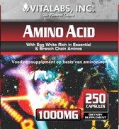 VitaTabs Aminozuur (BCAA) 1000 mg - 250 capsules - Voedingssupplementen