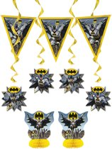 Batman™ decoratie set - Feestdecoratievoorwerp
