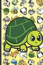 Turtle Animal Party Notebook