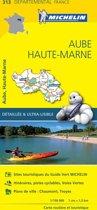 Aube / haute - marne 11313 carte ' local ' ( France ) michelin kaart