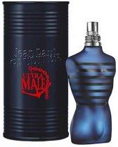 MULTI BUNDEL 2 stuks Jean Paul Gaultier Ultra Male Eau De Toilette Spray 125ml