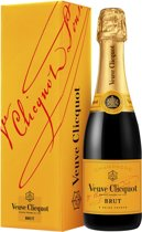 Veuve Clicquot Brut Giftpack Champagne - 1 x 37,5 cl