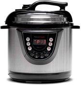 Snelkookpan - Multi functionele keukenmachine - Koken onder hoge druk - Inhoud 6 ltr - Elektrisch koken -