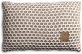 Knit Factory Mila Kussen 60x40 Marron/Beige