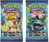 2 Pakjes Pokemon Kaarten XY12 - Evolution Booster