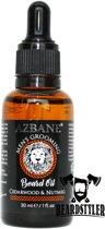 Azbane | Marokkaanse Argan Baardolie, Cedarwood & Nutmeg - 30 mL