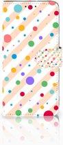 Motorola Moto G7 Power Boekhoesje Design Dots