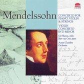 Mendelssohn: Concerto for piano, violin & strings; Violin concerto in D minor