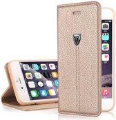 Xundd Fundas Echt Leer Case Cover Hoesje Voor iPhone 6 /  6S 4,7 Goud