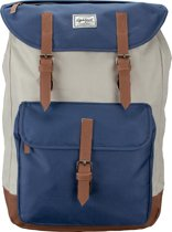Lightpak Laptoprugzak The Passenger Beige / Blauw
