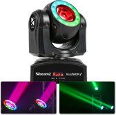 BeamZ Illusion I - 60W RGB LED moving head met LED ring