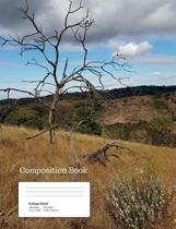 African Tree Composition Notebook, College Ruled