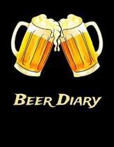 Beer Diary: Beer Brewer Log Notebook