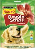 Bonzo Beggin' Strips - Bacon - 120 g