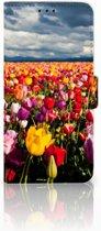 Huawei Nova 4 Uniek Boekhoesje Tulpen