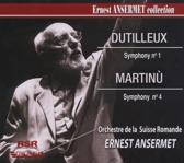 Dutilleux: Symphony No. 1; Martinu: Symphony No. 4