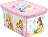 Curver Decobox Amsterdam Opbergbox - S - Kunststof - Disney Princess