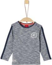 s.Oliver Jongens T-shirt lange mouw - donkerblauw - Maat 62
