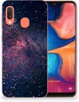 TPU Siliconen Backcase Samsung Galaxy A20e Design Stars