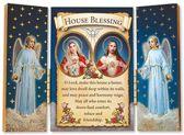 Drieluik Jezus met Maria Blessing