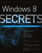 Windows 8 Secrets