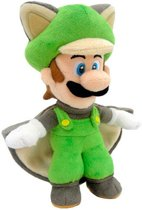 Super Mario Peluche Luigi flying squirrel 38cm