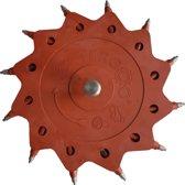 Tercoo Roterende Straler - Single Disk - Schuurmachine - Schuurpapier - Verf Verwijderen