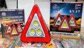 Gevarendriehoek LED Bouwlampen LED -- Gevarenlicht LED -  oplaadbaar - Werklicht - Powerbank