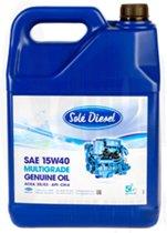 Solé Diesel 5 liter multigrade Motorolie 15W40
