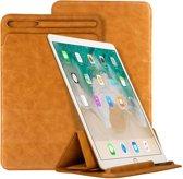 Jison Lederen iPad Sleeve iPad Pro 12.9 Inch (2018) - Bruin