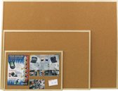 Esselte Prikbord - 600 x 900 mm - Natuurbruin