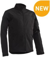 Santino Santo Black Softshell Jacket Heren